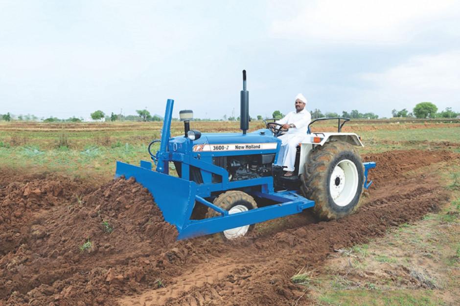 New Holland 3600-2 TX o mocy 50 KM to jeden z modeli produkowanych w Indiach, fot. mat. prasowe