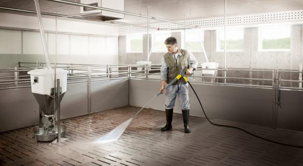 Czyszczenie pomieszczeń inwentarskich może być efektywniejsze