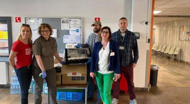 Lasy Państwowe przekazały środki na pomoc dla wielkopolskich szpitali