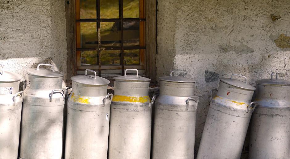 Producenci mleka chcą odrębnego pakietu pomocowego