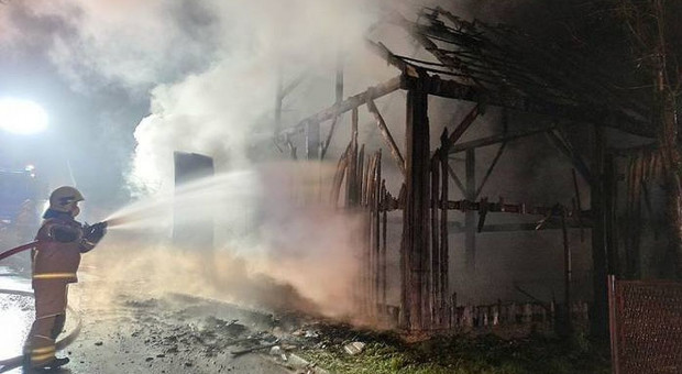 Policjanci złapali podpalacza stodoły