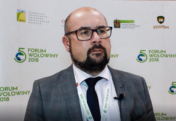 Jacek Zarzecki, prezes Polskiego Związku Hodowców i Producentów Bydła Mięsnego