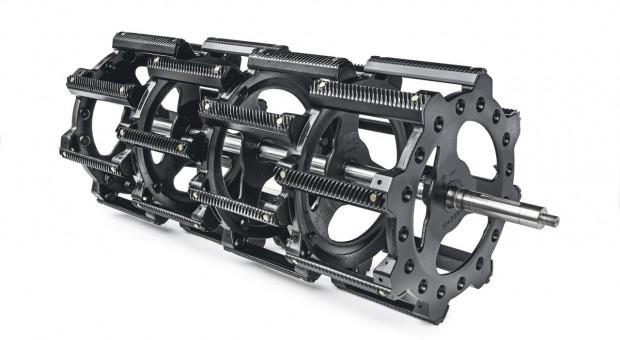 Bęben Ultra-Flow™ stosowany w kombajnie CX8
