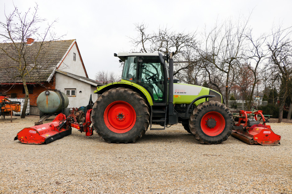 Claas Ares 696 RZ z 2004 r.