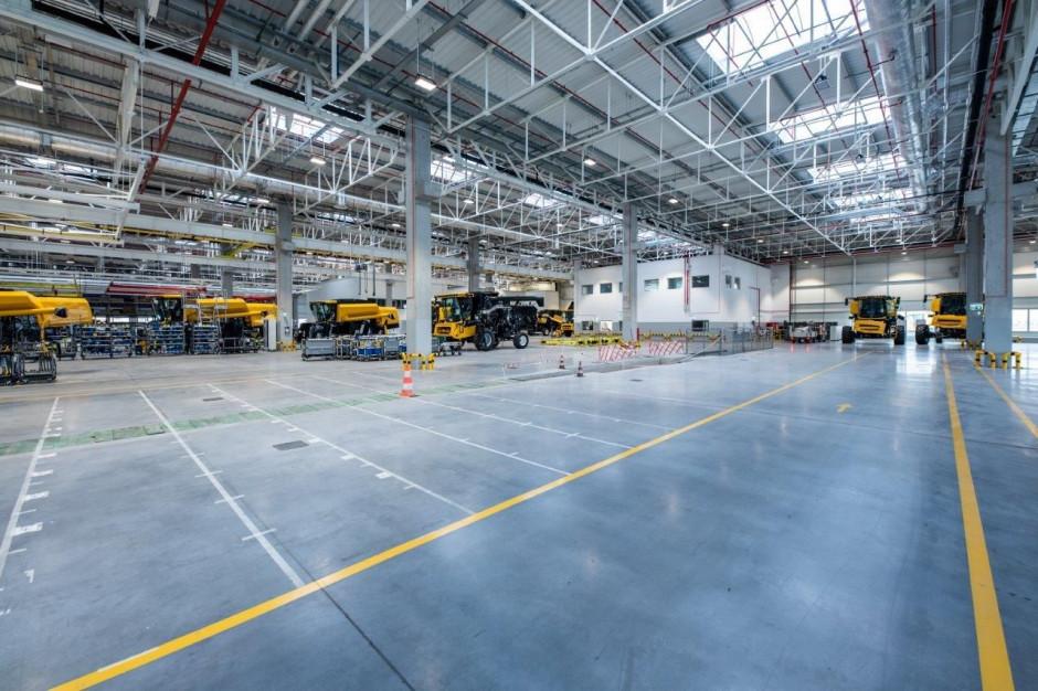 W fabryce CNH w Płocku, fot. NH