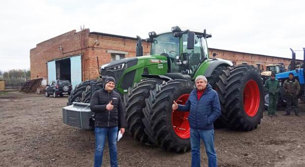 Pierwszy Fendt 942 Vario sprzedany na Ukrainie