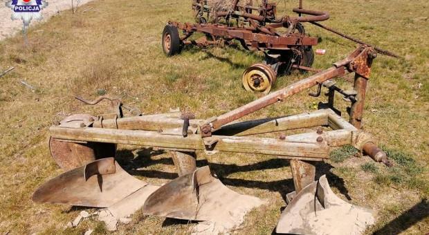 Złodziej zabrał z gospodarstwa sprzęt rolniczy