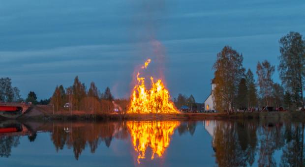 Szwecja: Kurze odchody mają zniechęcić do świętowania nocy Walpurgi