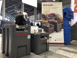 2 zbiorniki o pojemności 200 i 300 l pojawiły się w ofercie marki Deso podczas Targów Polagra Premiery 2020. Zbiorniki te bazują na osprzęcie włoskiej marki Piusi, fot. materiały prasowe