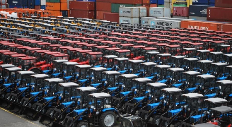 Zatrzymania przed fabryką traktorów w Mińsku