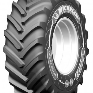 W oponach Michelin AxioBib 2 zastosowano technologię Michelin Ultraflex, umożliwiającą pracę już przy ciśnieniu 0,6 bara, fot. Michelin