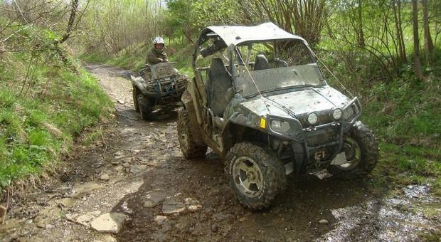 Crossowcy próbowali rozjechać strażników leśnych