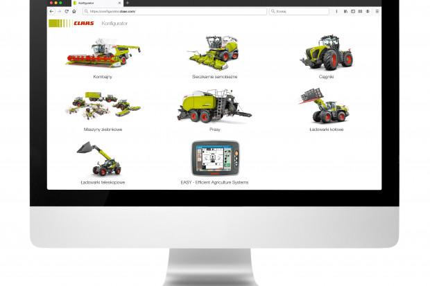 CLAAS udostępnia internetowy konfigurator na claas.pl do przygotowania precyzyjnego wyposażenia maszyny