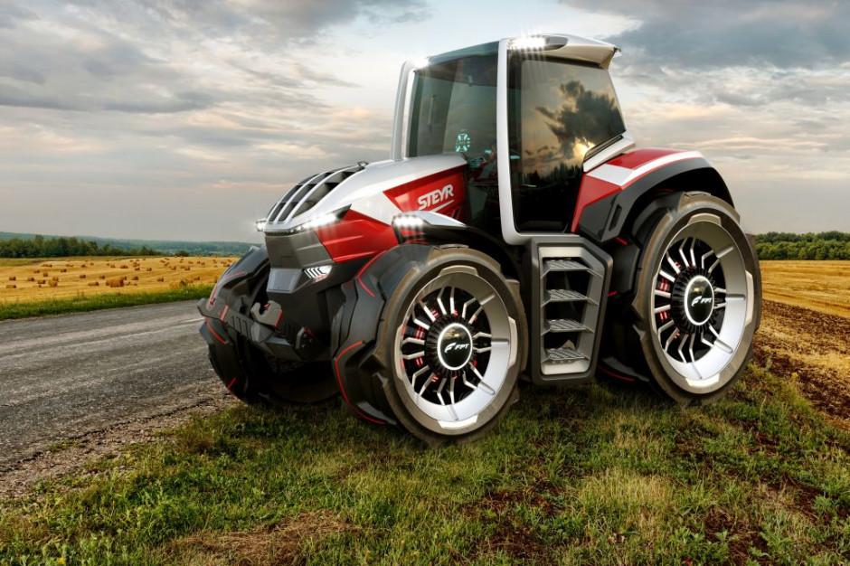 Zwycięski projekt został opracowany przez zespół CNH Industrial Design, markę Steyr oraz zespół ds. Innowacji z Agriculture & FPT Industrial. fot. materiały prasowe