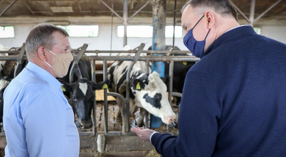 Prezydent: sprawy rolników znalazły się w zainteresowaniu państwa