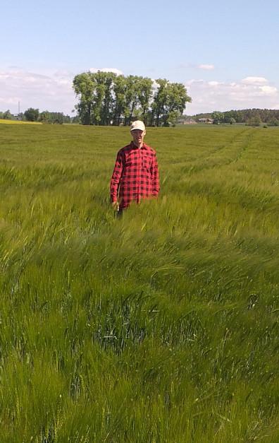 W gospodarstwie uprawiane są kukurydza, pszenica, jęczmień, żyto, pszenżyto, buraki cukrowe, lucerna oraz trawy.