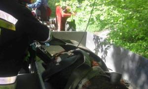 Wydobytą krasule zapakowano na przyczepę i odwieziono do gospodarstwa