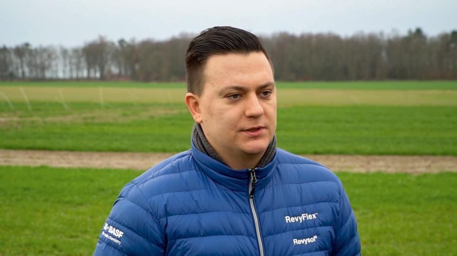 Rafał Maras, specjalista ds. zapraw nasiennych, regulatorów wzrostu iherbicydów zbożowych, BASF Polska