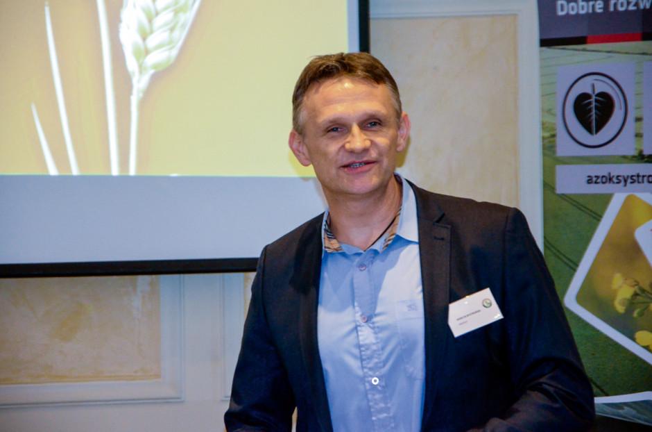 Marcin Bystroński, menedżer ds. upraw rolniczych, Innvigo