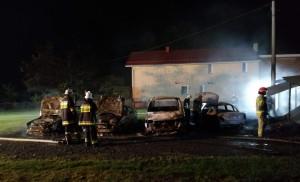 Pożar wybuchł około godz. 1 w nocy z niedzieli na poniedziałek. Przyczyny pojawienia się ognia nie są jeszcze znane