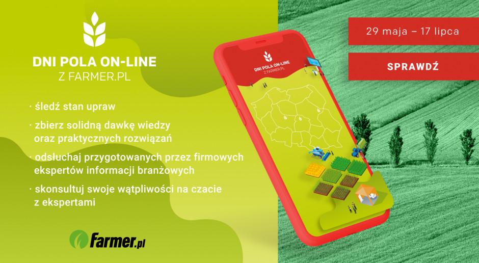 Bądź z nami na Dniach Pola On-Line farmer.pl