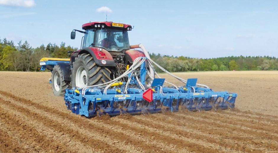 Farmet Strip-Till umożliwia uprawę do 35 cm głębokości.