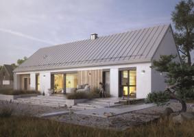 Projekt domu w stylu stodoły JEMIOLA 2; Studio projektowe Dom w Stylu