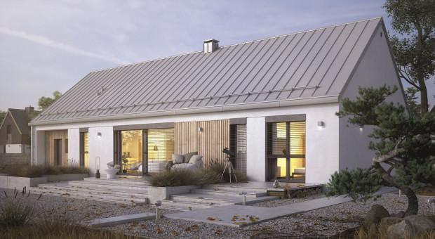 Dom w stylu stodoły