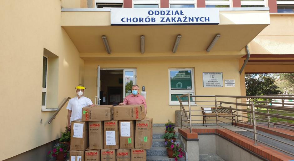 Unia: 140 tys. maseczek dla szpitali
