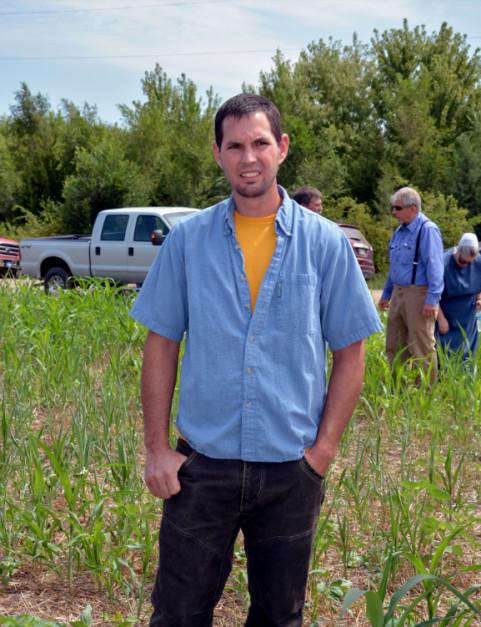 Marvin Miller od 3 lat gospodaruje w no-tillu na glebach, które przez 50 lat były intensywnie uprawiane, FarmProgress.
