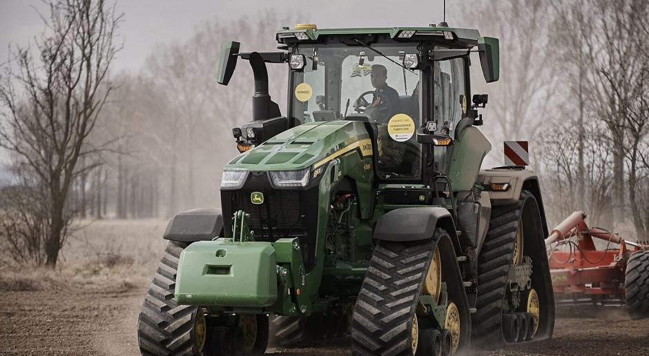 John Deere 8RX – podsumowanie pokazów u rolników