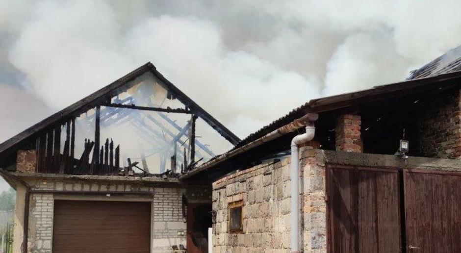 Spalił stodołę własnej rodzinie
