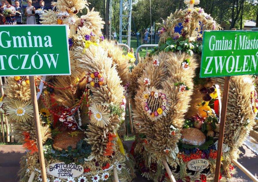 Dożynki w gminie Zwoleń, 2019 fot. A.Koz