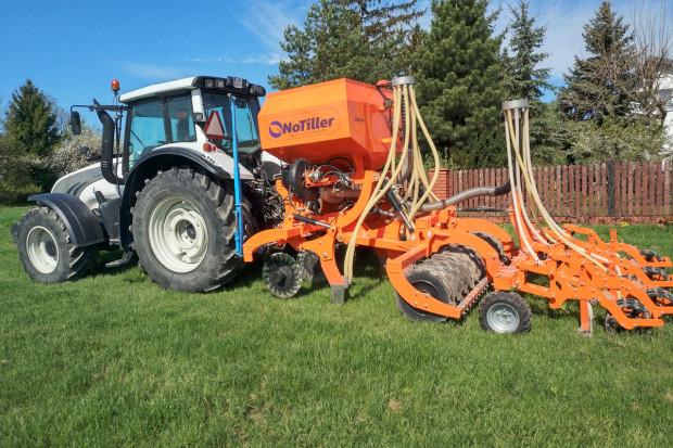 NoTiller - budowa maszyn  wsparta koncepcją  uprawy roli