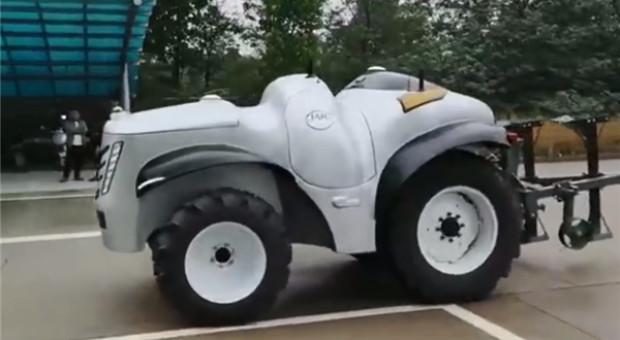 Chiński ciągnik autonomiczny gotowy do produkcji?