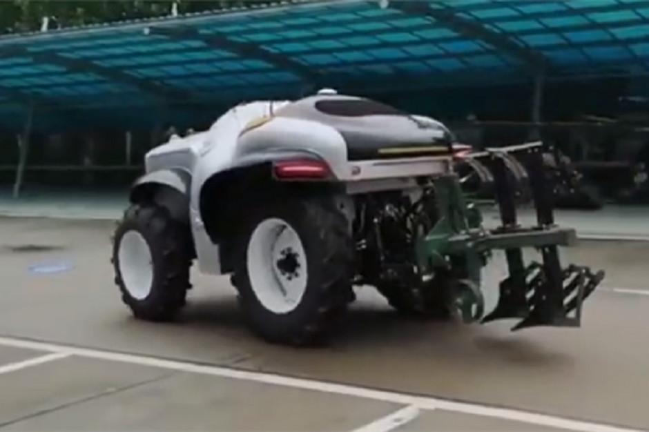 Oto pierwszy chiński ciągnik autonmiczny ET504-H, fot. mat. prasowe