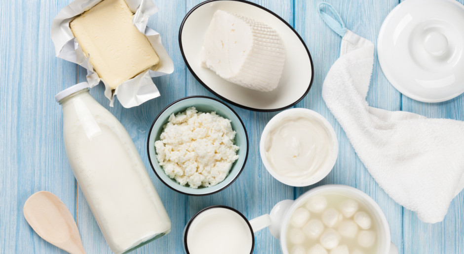 Niższe przychody z eksportu produktów mlecznych