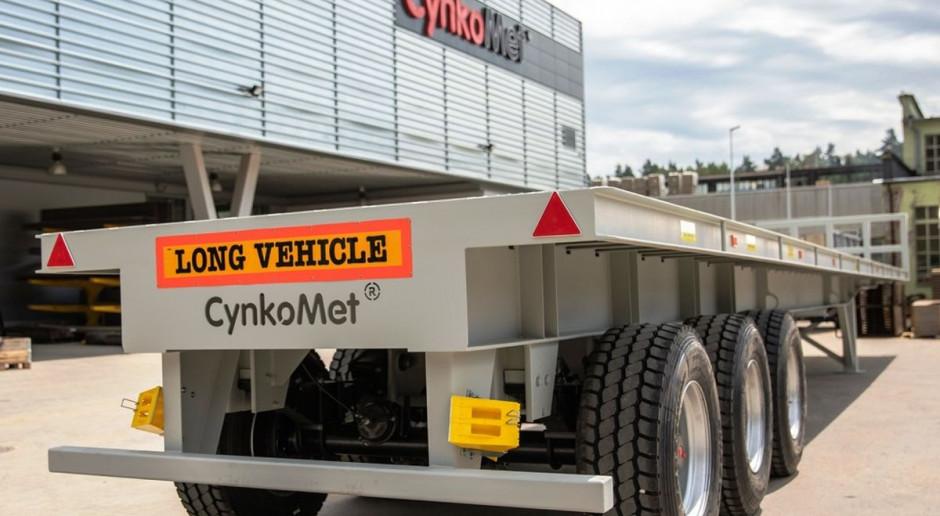 Ładowność 70 ton! Nowe, specjalistyczne przyczepy z Cynkometu
