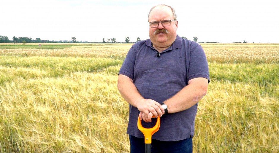 Farmerzy pytają o uprawę, dr Tomasz Piechota odpowiada