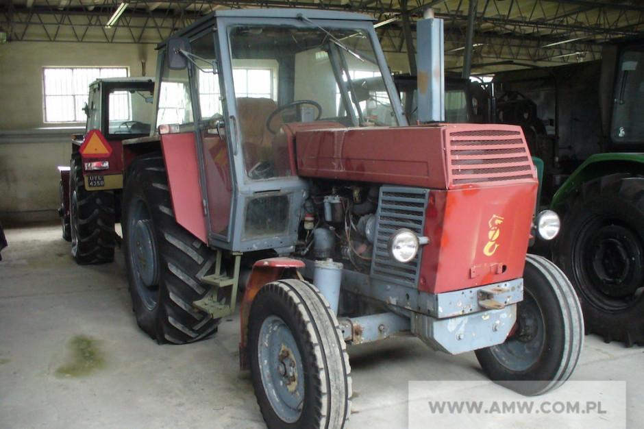 Ciągnik rolniczy Ursus U-902 wyprodukowany w 1981 r. Traktor został wyceniony na 12 tys. zł. fot. AMW