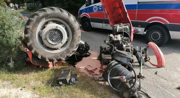 Groźne popisy drogowe traktorzystów