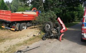 Kierujący ciągnikiem miał 2 promile alkoholu w organizmie, Foto: Policja