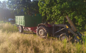 W gminie Siemień sprawca kolizji kierował pojazdem nie dopuszczonym do ruchu, Foto: Policja