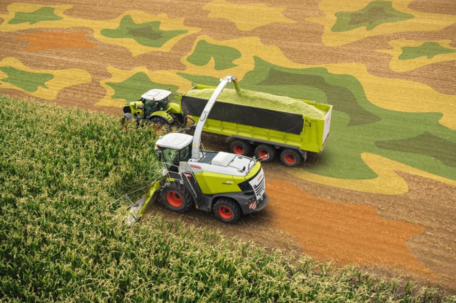 Mapowanie plonu podczas zbioru kukurydzy, fot.Claas
