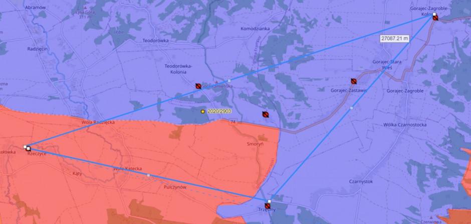 7 ognisk ASF w ciągu kilku dni na terenie dwóch sąsiadujących gmin.
