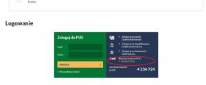 W pierwszej kolejności musimy  się zarejestrować na platformie PUE ZUS, aby móc później aktywować bon turystyczny.  Jeżeli nie jesteś zarejestrowany/a to wchodzisz na stronę: www.zus.pl/portal/logowanie.npi i klikamy