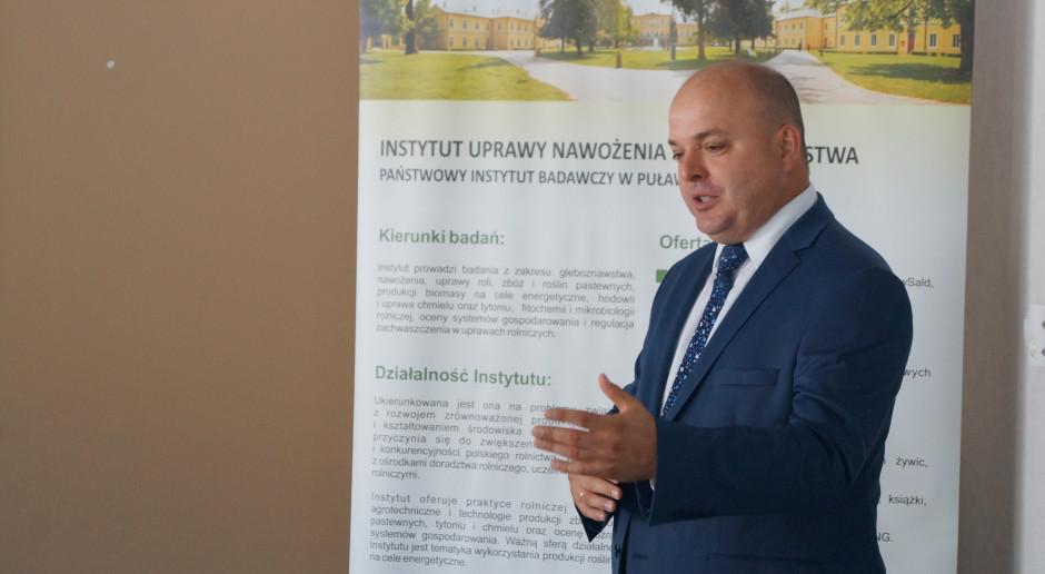 W swoim wystąpieniu prof. Matyka mówił m.in. o interakcjach pomiędzy rolnictwem a środowiskiem.