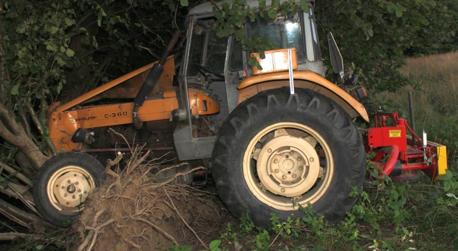 Rolnika przejechał własny traktor