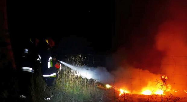 Pożar za pożarem: w jednej z akcji zginął strażak