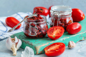 Suszone pomidory